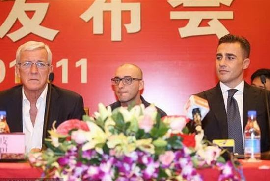 Cina, Cannavaro sostituirà Lippi alla guida del Guangzhou