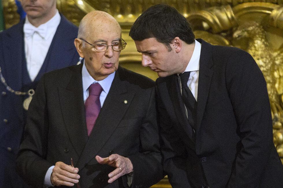 """Dopo-Napolitano, Renzi: """"Il nuovo Presidente deve essere eletto da una alleanza ampia. Nessuno ha diritto di veto. Nemmeno il Pd"""""""