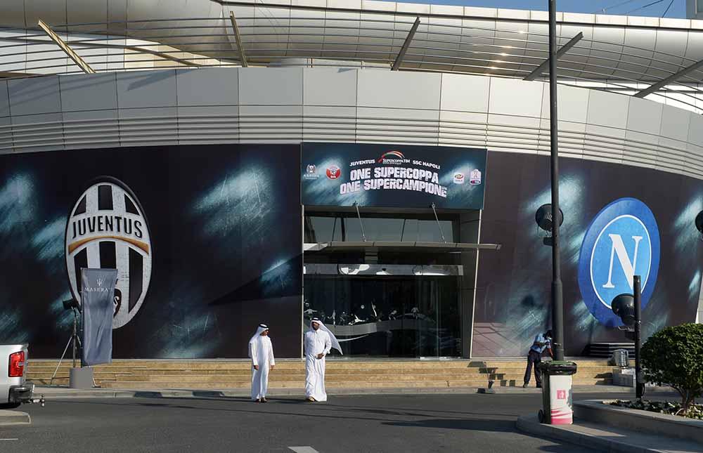 Calcio a Doha si assegna la Supercoppa italiana, grande attesa per la supersfida juve-Napoli