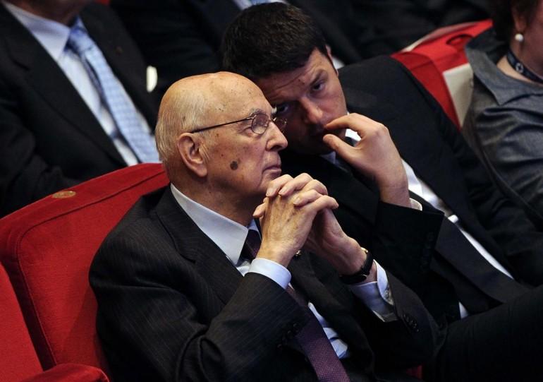 """Quirinale, Napolitano conferma le sue 'dimissioni imminenti'.Renzi: """"Il Parlamento non avrà problemi ad eleggere un sostituto"""""""