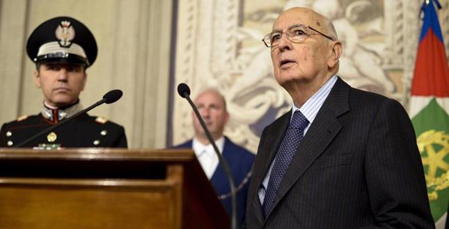 """Quirinale, il 14 gennaio Napolitano presenterà le sue dimissioni. Renzi, """"Il nuovo Presidente deve essere scelto con settimane di anticipo"""""""