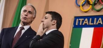 """Renzi lancia la candidatura dell'Italia per le Olimpiadi del 2024. """"Sono convinto che ce la faremo"""""""