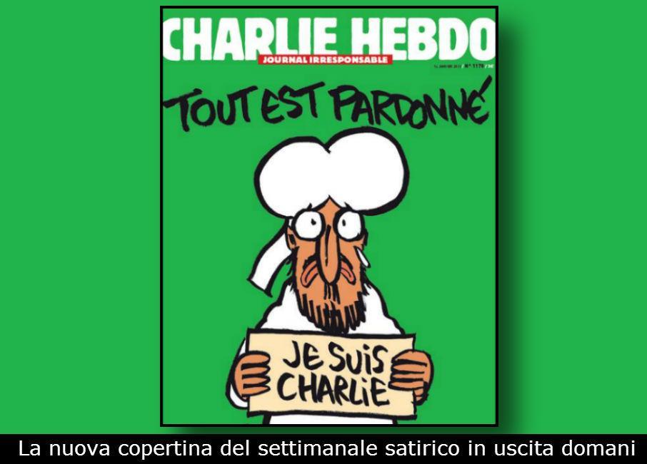 """Nuovo numero di Charlie Hebdo. Sulla copertina una vignetta su Maometto. """"Vi faremo ridere, perché abbiamo pianto abbastanza"""""""