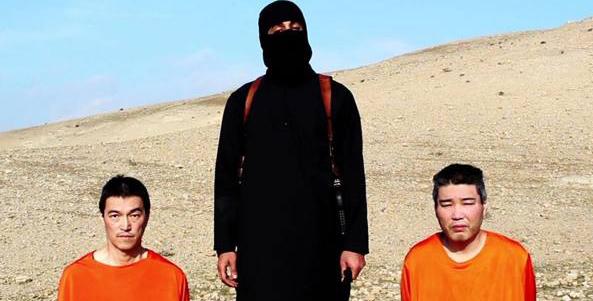 """L'Isis ricatta il Giappone: """"Vogliamo 200 milioni di dollari per non uccidere due vostri cittadini tenuti in ostaggio"""""""