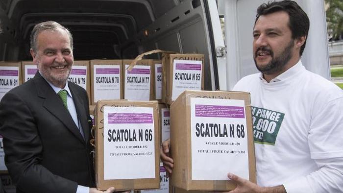 """Riforma delle pensioni, bocciato dalla Consulta il referendum proposto dalla Lega contro la legge Fornero. Salvini: """"Questa Italia mi fa schifo. Non finisce qui"""""""
