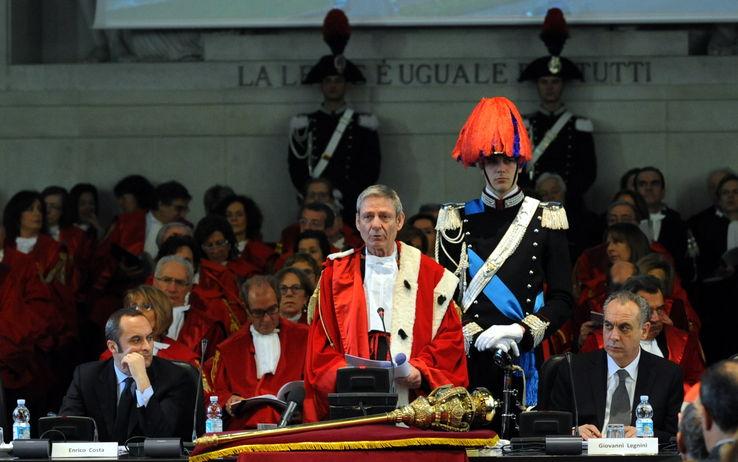 """La Magistratura Contabile inaugura l'anno giudiziario, il presidente Squitieri: """"Crisi economica e corruzione procedono di pari passo"""""""