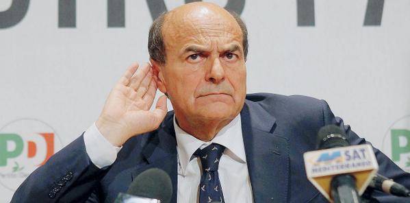 """Scuola, ambiente, fisco e Rai, Bersani contro i 'tavoli tematici' di Renzi: """"Non ci penso proprio. Non faccio il figurante di un film"""""""