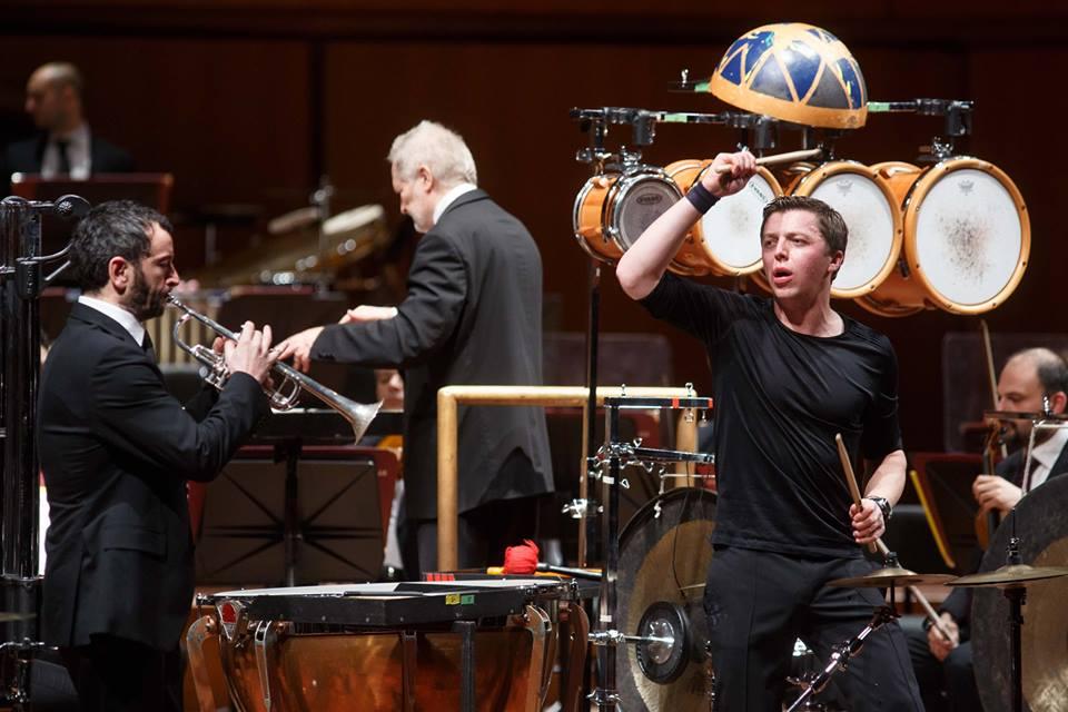 Al Parco della Musica si celebra il Novecento. Di scena il percussionista Martin Grubinger