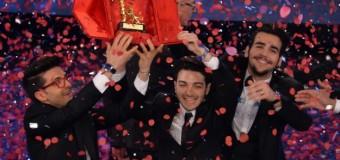 Sanremo, vince il trio di tenori Il Volo, record di ascolti: 11,8 milioni attaccati alla tv. Carlo Conti, un grande successo personale