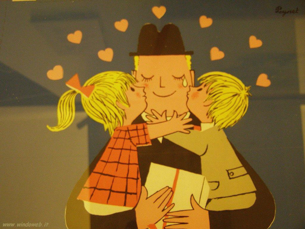 Festa del papà, i padri moderni sono più giocherelloni e aiutano di più in casa