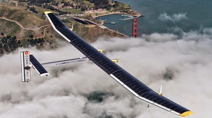 Abu Dhabi, è partito Impulse2, l'aereo a energia solare che in cinque mesi farà il giro del mondo