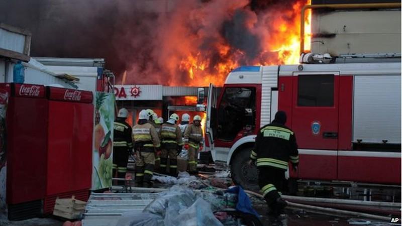 Russia, rogo in un centro commerciale. 5 morti e 25 feriti è il bilancio