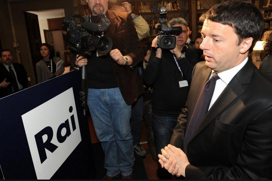 Riforma della Rai, Renzi vuole allontanare tutti i partiti dal cda e dare super poteri ad un amministratore nominato dal Governo