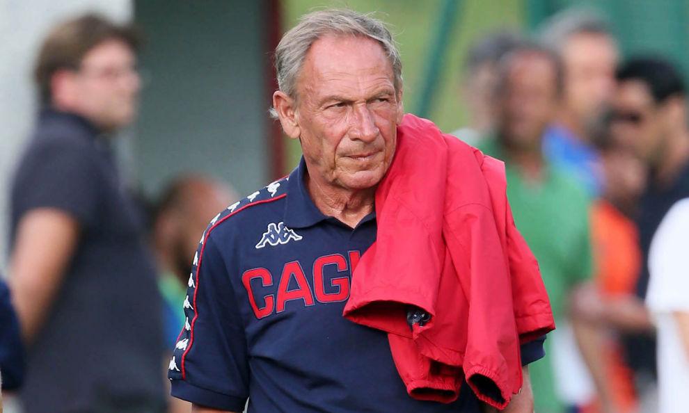 Cagliari, fatale al tecnico il ko di sabato contro la Sampdoria, esonerato mister Zola. In panchina torna Zeman