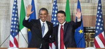 """Obama: """"L'Italia sulla strada giusta delle riforme"""" il premier italiano: """"Basta austerità gli Usa un modello per l'economia europea"""""""