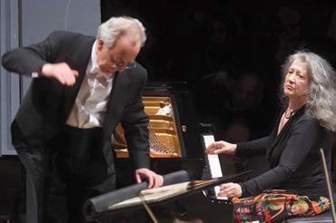 Accademia S.Cecilia, di scena Martha Algerich leggenda del pianismo internazionale diretta da Yuri Termikanov