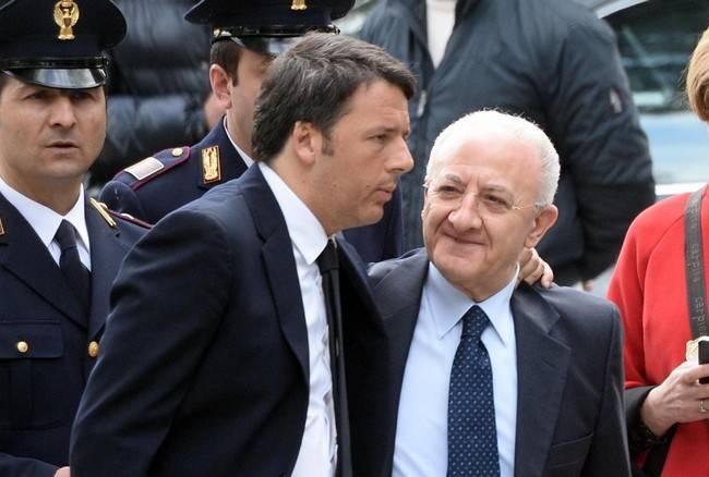 """Elezioni Campania, caso De Luca, Renzi: """"Un problema superabile, chi viene scelto dai cittadini con voto democratico potrà governare"""""""