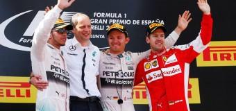 Formula 1, doppietta Mercedes vince Rosberg davanti ad Hamilton. Massa sale sul podio. Vettel solo quarto