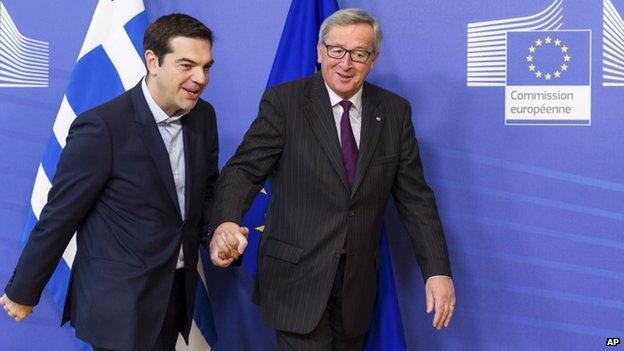 """Crisi Greca, serve più tempo per l'accordo. L'ultima proposta di Tsipras ai leader dell'Eurozona. Ue: """"Fatto un grosso passo avanti"""""""
