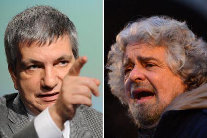 """Il baby pensionato Vendola (57 anni) a sei mila euro al mese. Grillo lo attacca lui replica: """"Rinuncerei se fossi anch'io un comico miliardario"""""""