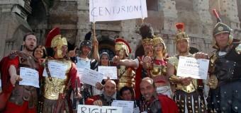 """Centurioni fuori legge, la protesta contro la delibera del commissario Tronca. """"Ci sono i bangladesh e gli zingari se la prendono con noi che siamo romani"""""""