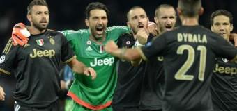 Champions, Juve piega il Manchester City e passa il turno. Buffon da record: 100 presenze nelle coppe europee
