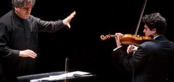 Parco della Musica, tris di compositori e di opere. Al violino Michael Barenboim per la direzione di Sir Pappano