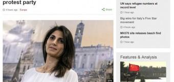"""Raggi e Appendino infiammano la stampa straniera. Le Figaro': """"Un vero schiaffo al Pd di Renzi"""" la tedesca Die Welt: """"Duro avvertimento al partito del premier"""""""