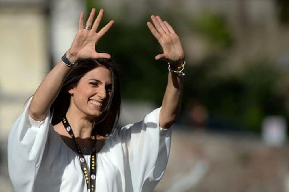 """Virginia Raggi sorpresa dal risultato oltre le aspettative: """"Saro' il sindaco di tutti anche di chi non mi ha votato. Finalmente Roma avrà un sindaco donna"""""""