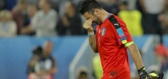 """Dolorosa sconfitta ai rigori, Conte commosso: """"E' stato un grande onore allenare questa Nazionale i ragazzi hanno dato tutto quello che avevano""""."""