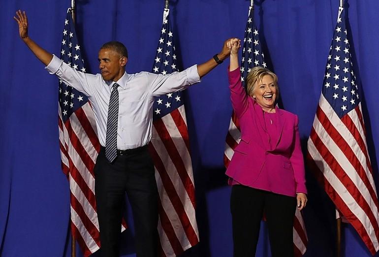 """L'America al voto decide il suo futuro. Si chiude la campagna più velenosa della storia Usa. Hillary in ripresa e Trump si prepara allo scontro a fuoco: """"Sondaggi truccati"""""""